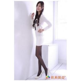 美肌透膚彈性褲襪(黑色) - ST14ST15 J-12163