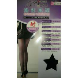 40D·輕雕塑★加大微透絲襪耐勾微透膚絲襪(黑) J-11836