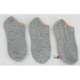品名: 促銷童襪-大童船襪(灰) J-13381
