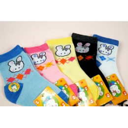 品名: 可愛促銷童襪(此款無止滑)(小童) J-12347