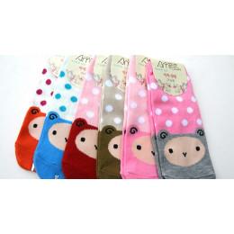 ★現貨★MIT可愛流行女船襪(粉紅色) J-12023